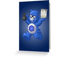 Gamer Bear Greeting Card