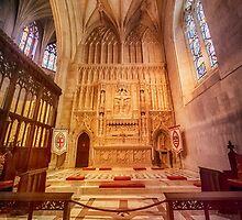Glorious Chapel VI by Ray Warren
