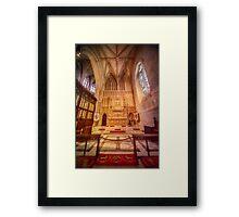 Glorious Chapel VI Framed Print