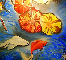The Koi Pond by Karen L Ramsey