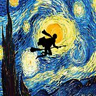 Harry Potter's Starry Night  by hannahrain