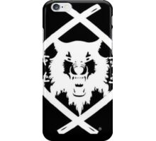 Hollow squad white emblem iPhone Case/Skin