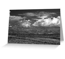 Utah Skyline Greeting Card