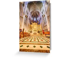 Magnificent Cathedral VIII Greeting Card