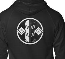Blackquill Crest Zipped Hoodie