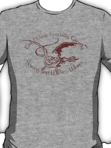 """""""The most specially greedy, strong and wicked worm"""" T-Shirt"""