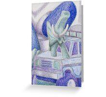 Shades Of Blue Still Life Greeting Card