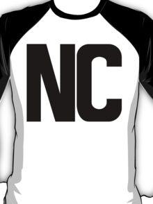 North Carolina NC Black Ink T-Shirt