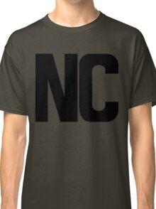 North Carolina NC Black Ink Classic T-Shirt
