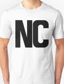 North Carolina NC Black Ink Unisex T-Shirt