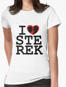 I Heart Sterek Womens Fitted T-Shirt