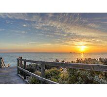 Beach Boardwalk Photographic Print