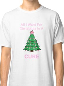 Breast Cancer Christmas Classic T-Shirt