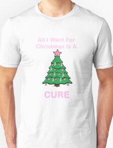 Breast Cancer Christmas Unisex T-Shirt