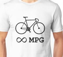 Bike Infinity MPG Bicycle Cycling Unisex T-Shirt