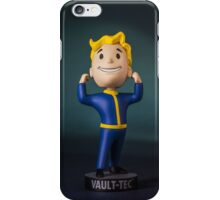 Fallout 4 Vault boy bobble head iPhone Case/Skin