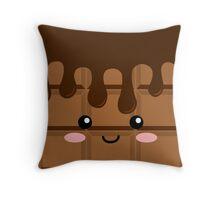 Cute Chocolate Throw Pillow