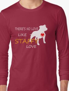 STAFFY LOVE Long Sleeve T-Shirt