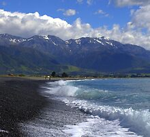 Kaikoura by Doug Cliff