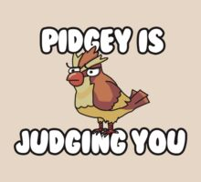 Pidgey is Judging You by CarryOnWayward