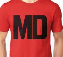 Maryland MD Black Ink Unisex T-Shirt