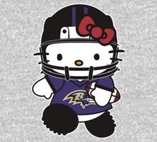 Hello Kitty Loves The Baltimore Ravens! by endlessimages