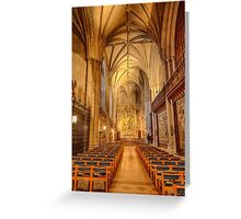 Glorious Chapel  Greeting Card