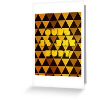 Baratheon House Words Greeting Card