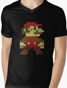 Mario Mens V-Neck T-Shirt