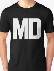 Maryland MD White Ink T-Shirt