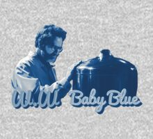 Baby Blue - Breaking Bad (blue colour) by Omar S.