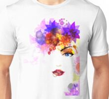 Colorful Flower Women Unisex T-Shirt