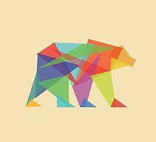 Fractal Geometric Bear by Budi Satria Kwan