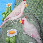 Pyrrhuloxia by jkartlife