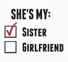 She's My Sister by UrALizardHarry
