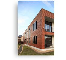 wooden building  Canvas Print