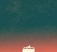 Quiet night starry sky by Choma House