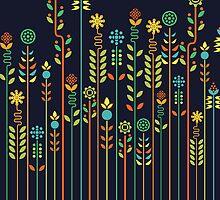 Overgrown flowers by Budi Satria Kwan