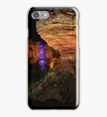 Willy's Butte in Cars Land at Disney California Adventure iPhone Case/Skin