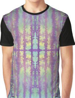 aqua violet drips Graphic T-Shirt