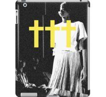 ††† (Crosses) - Yellow Variant iPad Case/Skin