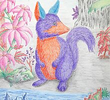 Exotic Squirrel Creature by jkartlife