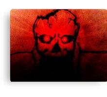 Death Stare Canvas Print