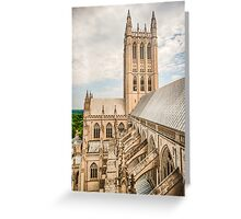 Magnificent Cathedral III Greeting Card