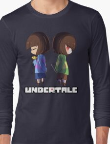 Undertale - chara and frisk Long Sleeve T-Shirt