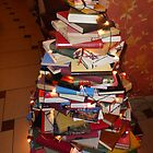 Christmas Tree of Books by UrsulaRodgers