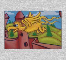 suesslike bird in flight One Piece - Long Sleeve