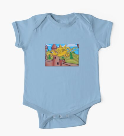 suesslike bird in flight One Piece - Short Sleeve
