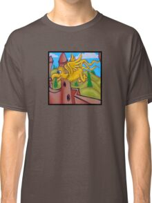 suesslike bird in flight (square) t Classic T-Shirt