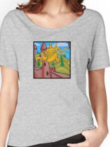 suesslike bird in flight (square) t Women's Relaxed Fit T-Shirt